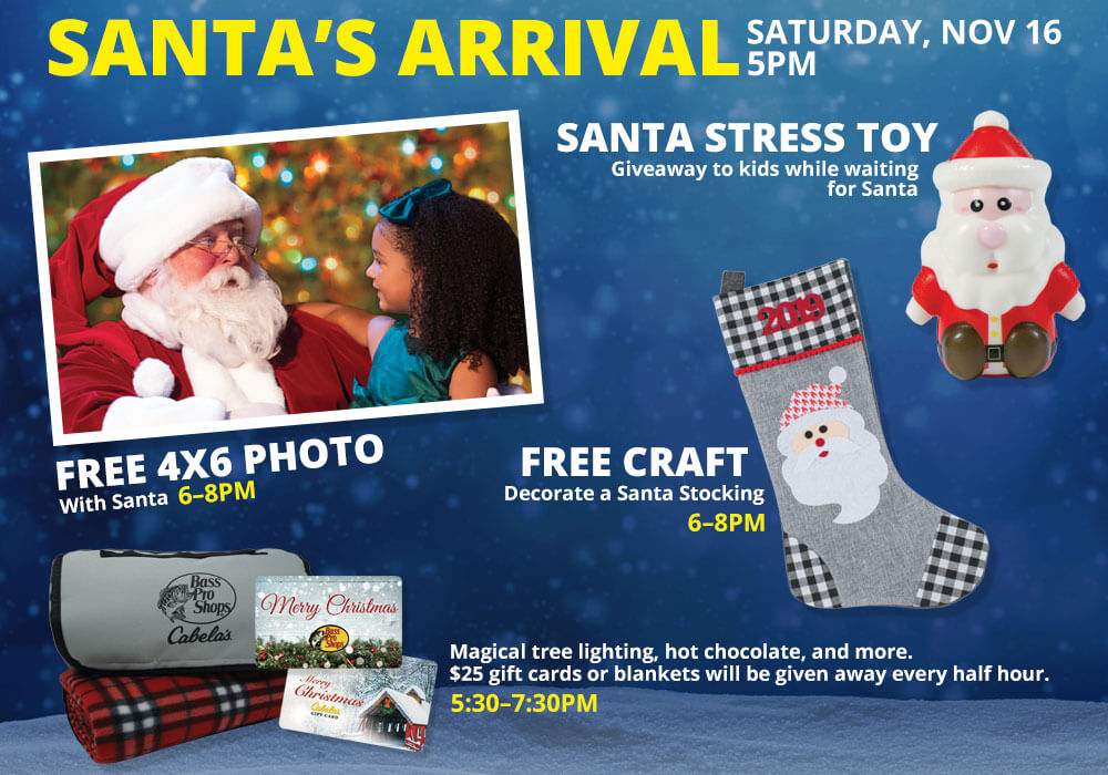 FREE Craft & Kids Catch a Santa Stress Toy!
