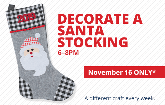 Decorate a Stocking