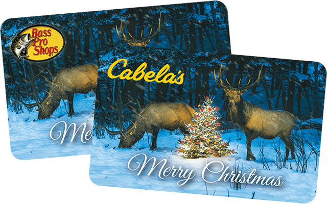bass pro shops cabelas gift cards