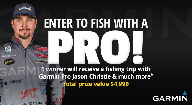 Enter for a Chance to Fish with a Pro