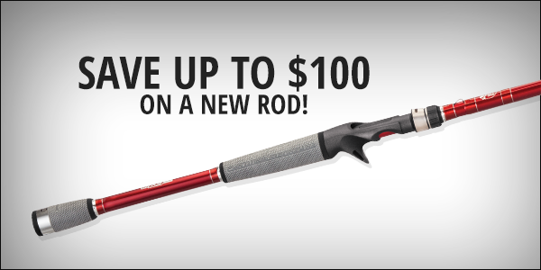 Save up to $100 on a new reel!