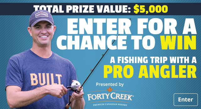 Enter for a Chance to Win a Fishing Trip with a Pro Angler - Enter