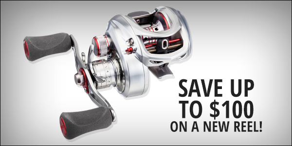 Save up to $100 on a new rod!