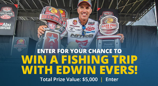 Enter to Win a Fishing Trip with Edwin Evers